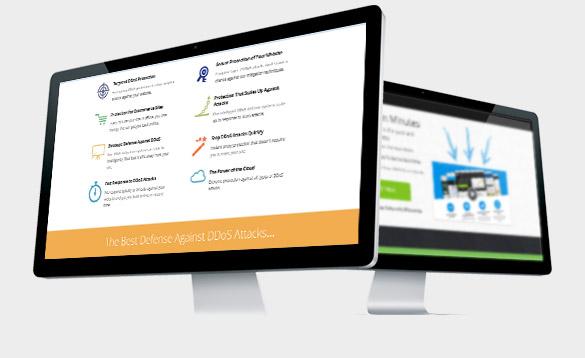 Mission critical web hosting that keeps your website online.